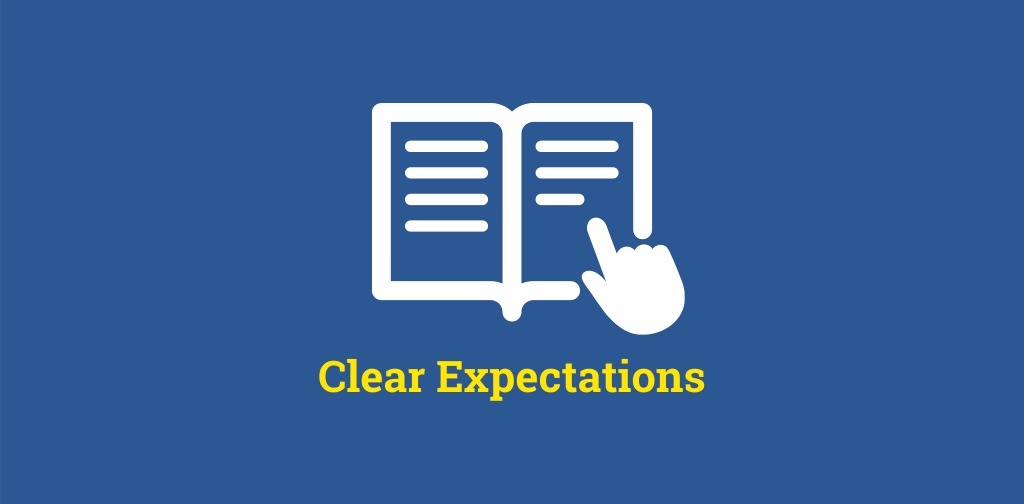 clear expectations