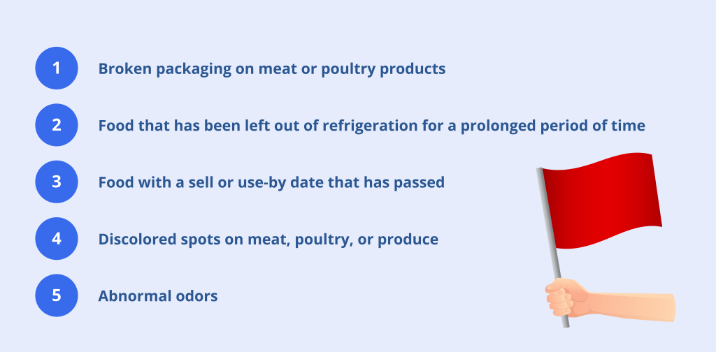 food safety red flags